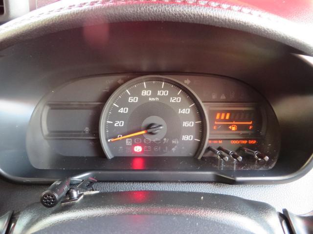メーター内には低燃費運転時にはエコインジゲーターが点灯し低燃費運転をアシストしてくれます。