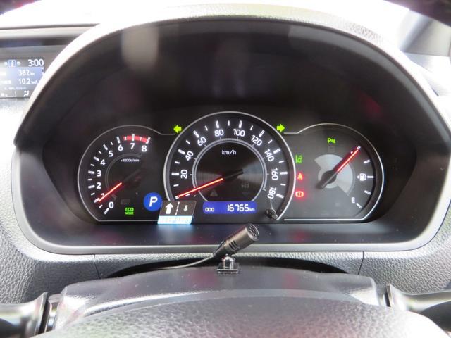 メーター内には低燃費運転時に点灯するエコインジゲーター付き