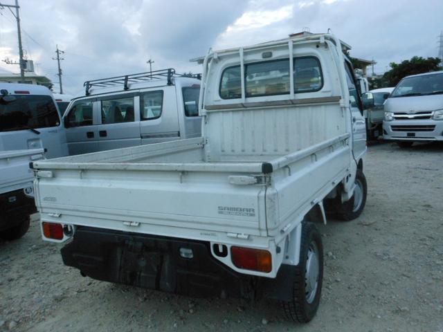 スバル サンバートラック 4WD車エアコンパワステ
