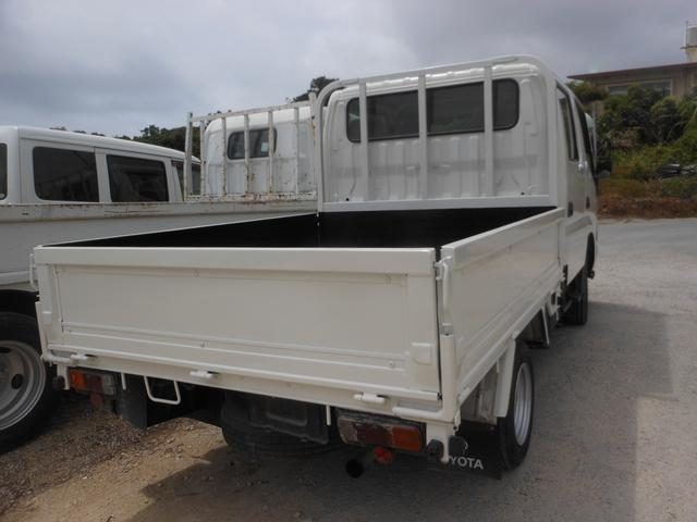 トヨタ ダイナトラック Wキャブロングジャストロー
