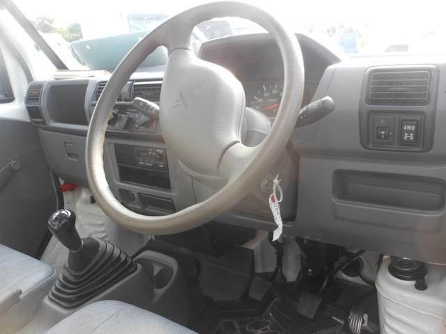 三菱 ミニキャブトラック 4WD車エアコンパワステ付き