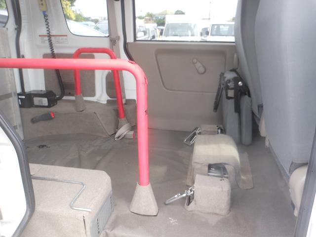スズキ エブリイワゴン スロープ式福祉車両