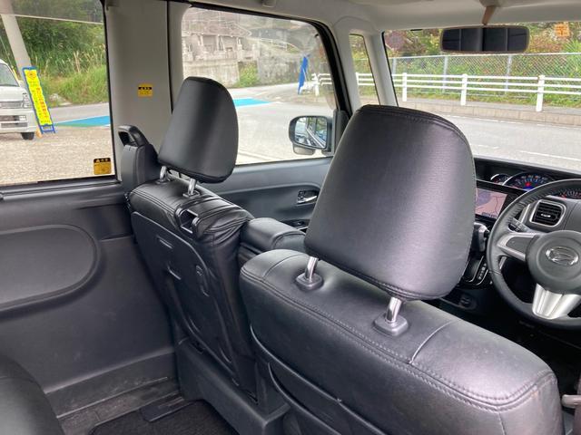 カスタムRS スマートセレクションSA 社外フルセグTV Bluetooth対応ナビ 両側パワースライドドア プッシュスタート スマートキー エコアイドルストップ機能搭載 衝突軽減サポート 純正アルミホイール バックカメラ ターボ車(18枚目)