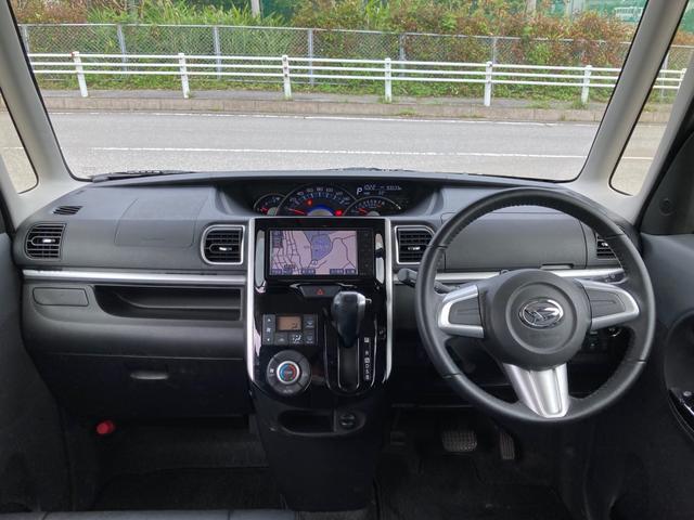 カスタムRS スマートセレクションSA 社外フルセグTV Bluetooth対応ナビ 両側パワースライドドア プッシュスタート スマートキー エコアイドルストップ機能搭載 衝突軽減サポート 純正アルミホイール バックカメラ ターボ車(22枚目)