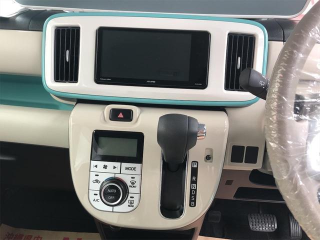 Gメイクアップリミテッド SAIII 社外ナビ スマートアシスト 両側パワースライドドア バックカメラ LEDヘッドライト スマートキー プッシュスタート TV/ナビ(12枚目)