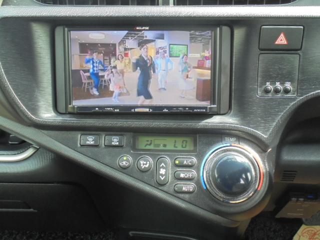 トヨタ アクア G 社外ナビテレビ バックカメラ ETC スマートキー