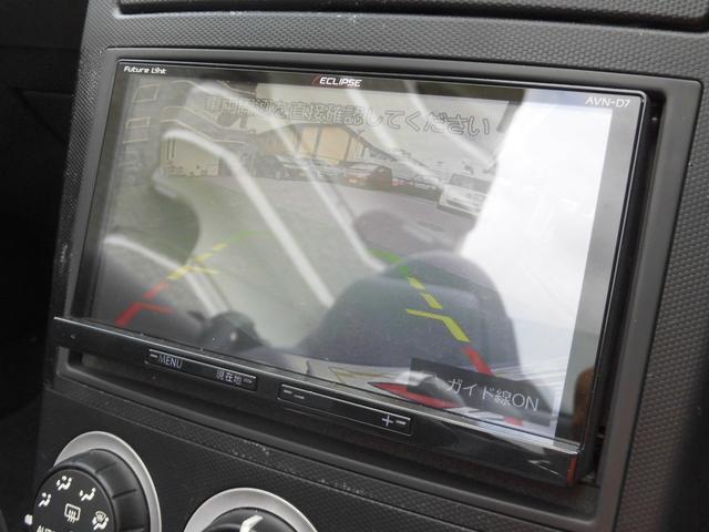 バックカメラ作動状態☆後方視界の悪いZなので車庫入れがとても楽になります♪