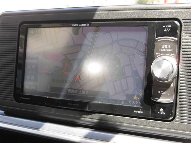 アクティバX リミテッド SAIII メモリーナビ フルセグTV バックカメラ スマホ接続対応(10枚目)