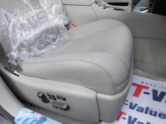 5.0 LS600hL後席セパレートシートパッケージ(6枚目)