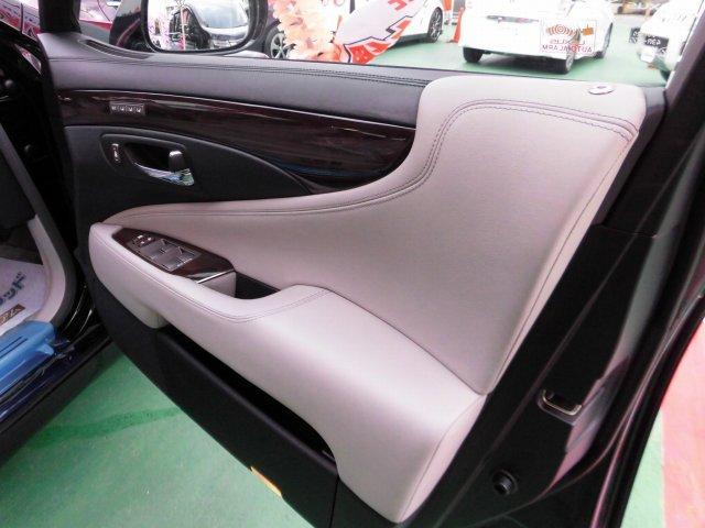 5.0 LS600hL後席セパレートシートパッケージ(7枚目)