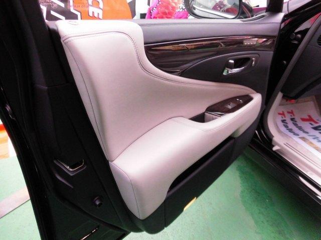 5.0 LS600hL後席セパレートシートパッケージ(12枚目)