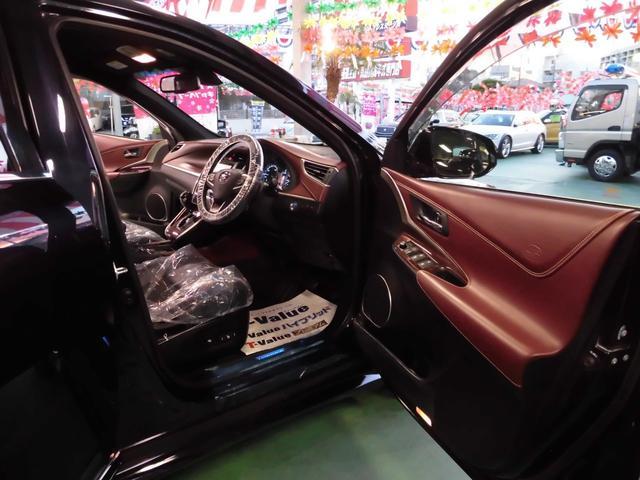 「トヨタ」「ハリアーハイブリッド」「SUV・クロカン」「沖縄県」の中古車9