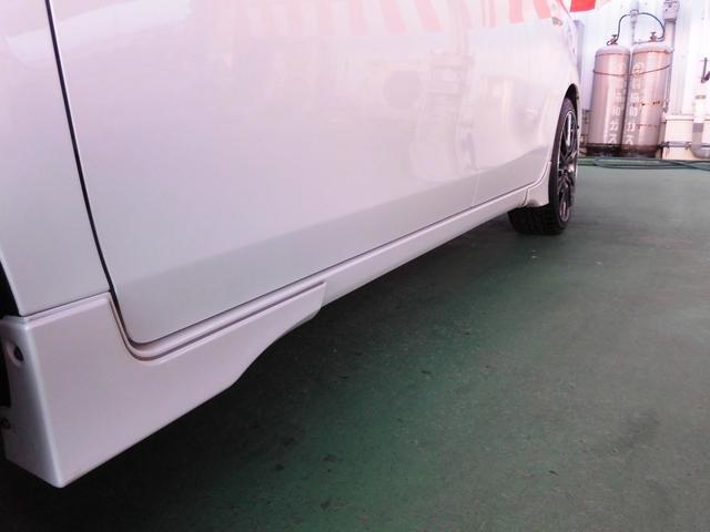 G ・純正8インチナビ&フルセグ・LEDライト・F&Rカメラ・ハーフレザー・モデリスタエアロVr7人乗(63枚目)