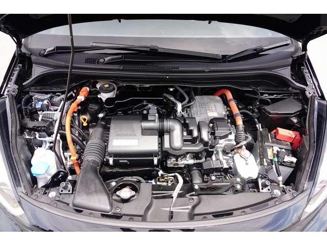 1500CCエンジン+2モーターのハイブリッドシステム