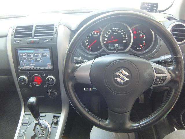スズキ エスクード 2.4XG 4WD メモリーナビ 2年保証付き