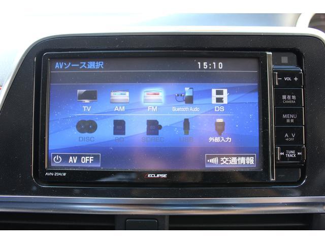 【フルセグTVナビ付き】 TV、DVD、Bluetooth、CDが使えます。