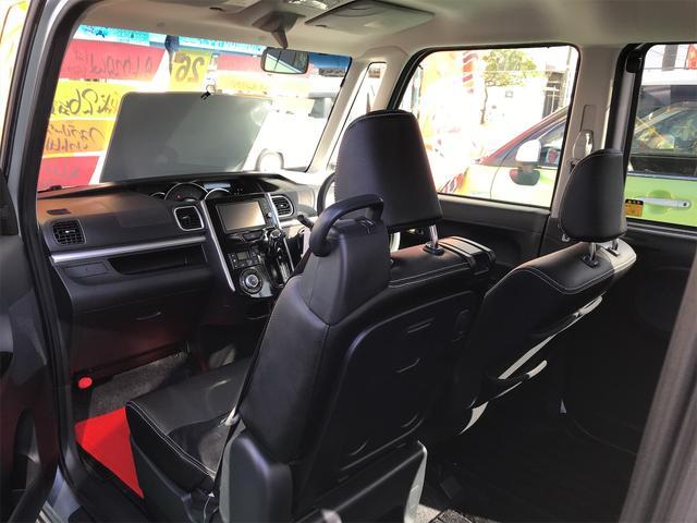 カスタムX トップエディションSA TV ナビ LED 衝突被害軽減システム ブライトシルバーメタリック CVT 革シート AC バックカメラ オーディオ付 スマートキー ベンチシート(9枚目)