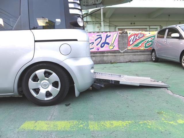 トヨタ シエンタ ウェルキャブ福祉車両・スロープタイプ・