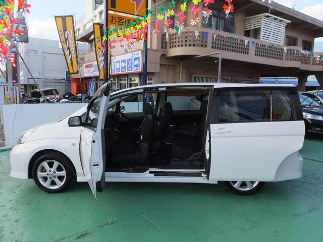 「トヨタ」「アイシス」「ミニバン・ワンボックス」「沖縄県」の中古車5
