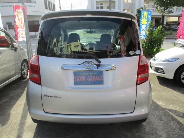 「トヨタ」「ラクティス」「ミニバン・ワンボックス」「沖縄県」の中古車4
