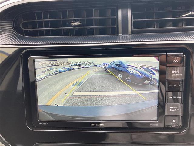 バックカメラ搭載車両!
