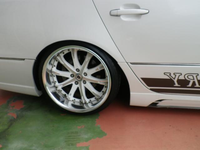 トヨタ セルシオ C仕様 JOBDESIGN4本マフラー エアサス