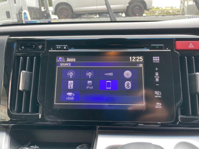 Bluetooth機能搭載でスマホの音楽も楽々再生♪ 走行中の通話も可能です。
