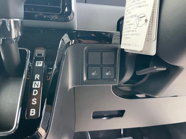 カスタムXセレクション スマートキー プッシュスタート 両側電動パワースライドドア シートヒーター オートハイビーム 安全装備スマートアシスト3 衝突被害軽減ブレーキ LEDライト 届出済未使用車(14枚目)