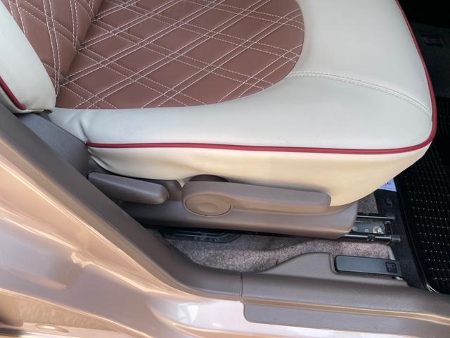 【シートリフター】 シートをお好みの高さに調節できます♪ちょうどいい位置へあなたをいざないます☆背の低い方、高い方も安心してドライブを楽しめます♪