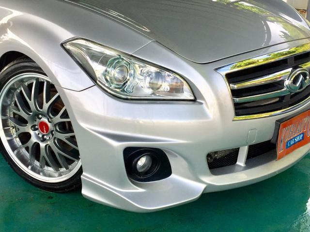 250GT インフィニティ仕様・フルエアロ・社外20インチアルミ・国産タイヤ・ローダウン・本土中古車・ワンオーナー車(5枚目)