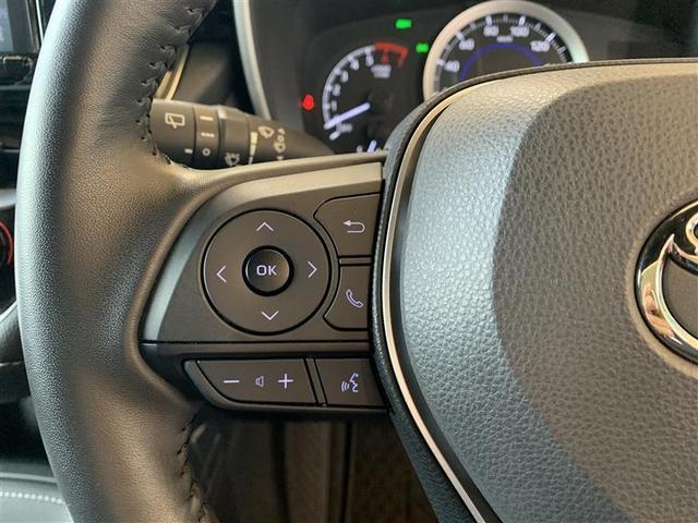 ステアリング左スイッチオーディオ操作スイッチ・電話応答スイッチ