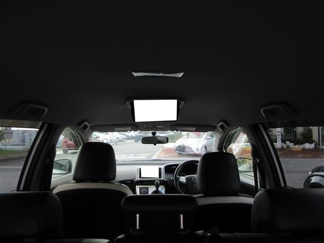 後席フリップダウンモニター☆ 後部座席のお子様もたのしいドライブになります。