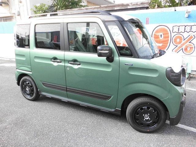 「スズキ」「スペーシアギア」「コンパクトカー」「沖縄県」の中古車4