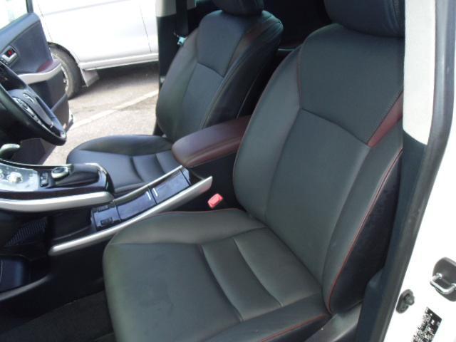 トヨタ SAI G Aパッケージ 革張りシート 社外18アルミ HDDナビ
