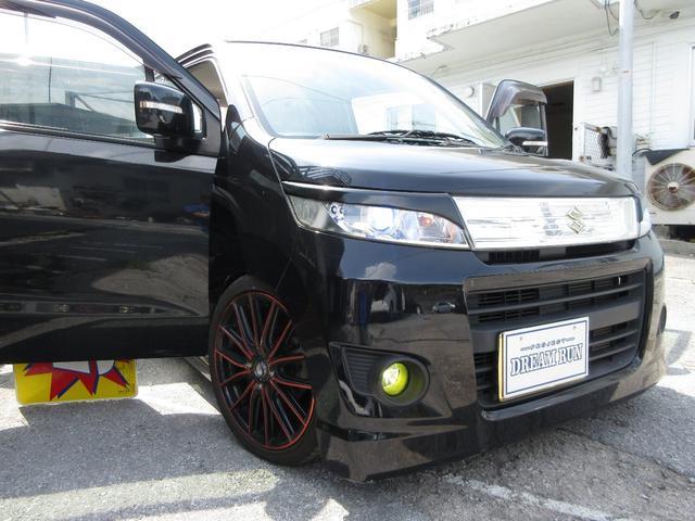 「スズキ」「ワゴンRスティングレー」「コンパクトカー」「沖縄県」の中古車23