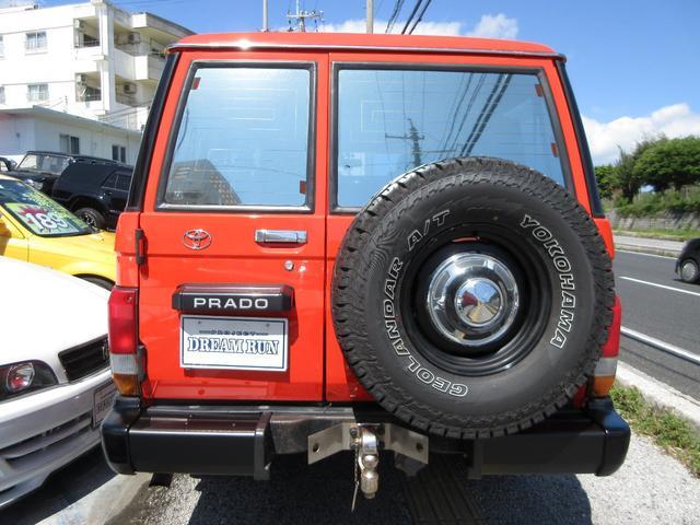 「トヨタ」「ランドクルーザープラド」「SUV・クロカン」「沖縄県」の中古車9