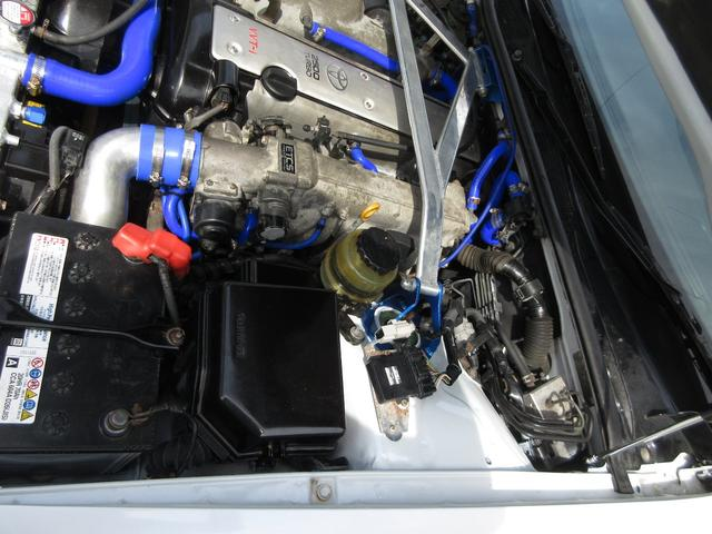 ツアラーV リミテッド エンジンO/H 社外18アルミ インタークーラー アルミラジエター 社外マフラー車高調 フルエアロ サンルーフ ウィング(27枚目)