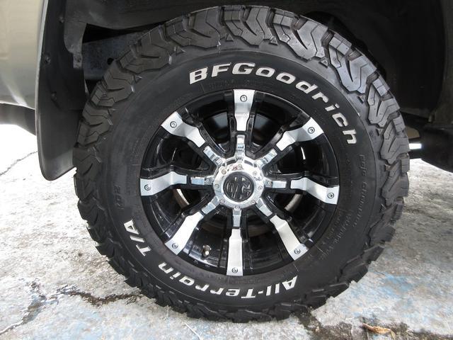 SSR-X 社外16インチアルミ BFグットリッチタイヤ 社外足回り 4WD(9枚目)