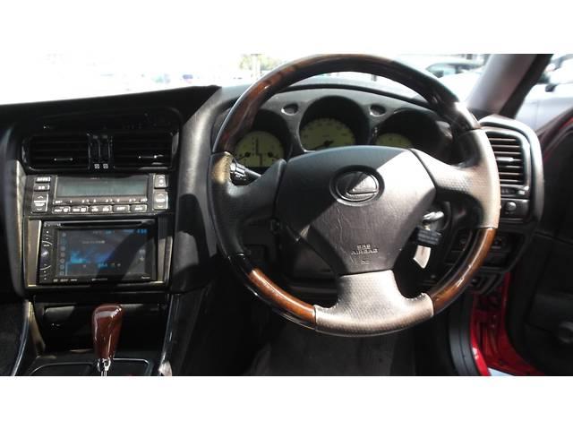 トヨタ アリスト S300ベルテックスエディション カスタムペイント20アルミ