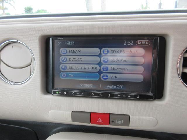ココアプラスX 社外14アルミ ルーフラック 社外SDナビ Bluetooth内蔵 地デジ(13枚目)