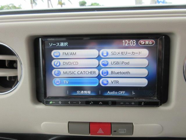 ココアプラスX 社外14アルミ ルーフラック 社外SDナビ Bluetooth内蔵 地デジ(23枚目)