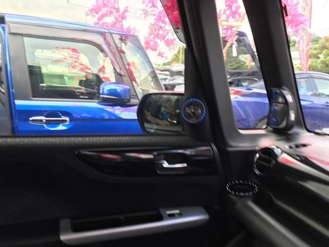 G・ターボLパッケージ スマートキー プッシュスタート 両側パワースライドドア ハーフレザーシート 社外ナビ 社外スピーカー サブウーファー ETC(23枚目)