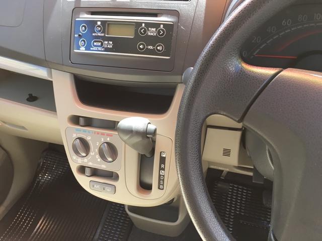ダイハツ ムーヴ L SA 軽自動車 インパネCVT 保証付 エアコン