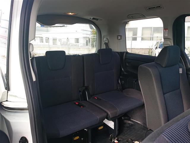 ウェルキャブ バックカメラ ETC 電動スライドドア LEDヘッドランプ 乗車定員8人 3列シート 記録簿(17枚目)