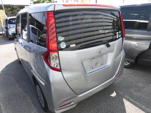 ルーミーX S 衝突軽減ブレーキ アイドリングストップ搭載