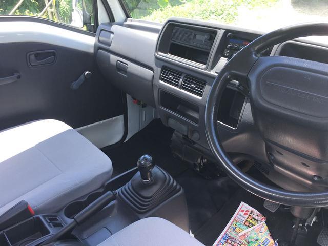 スバル サンバートラック エアコン 2WD パワステ 5速
