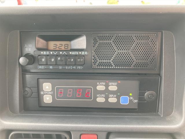KCエアコン・パワステ ★本土仕入★ 冷蔵冷凍車 ドライブレコーダー付き 温度設定25度から-5度まで 加熱温度65度 アンダーコート済(16枚目)