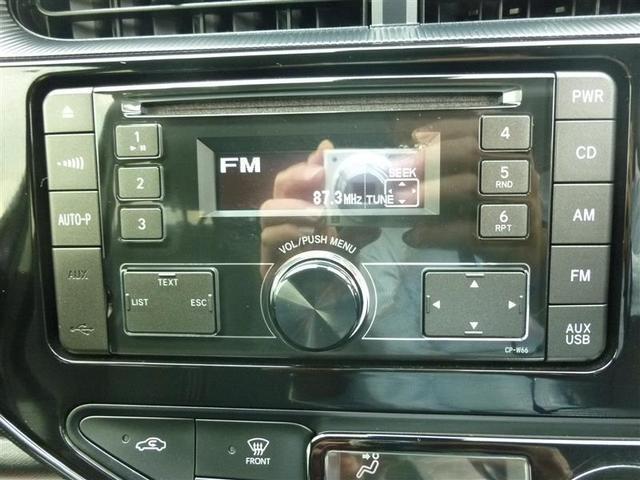 純正オーディオCD・ラジオ・USB再生出来ます!