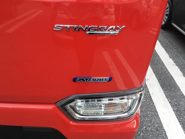 スズキ ワゴンRスティングレー ハイブリッドX