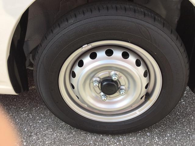 タイヤ溝もばっちり!